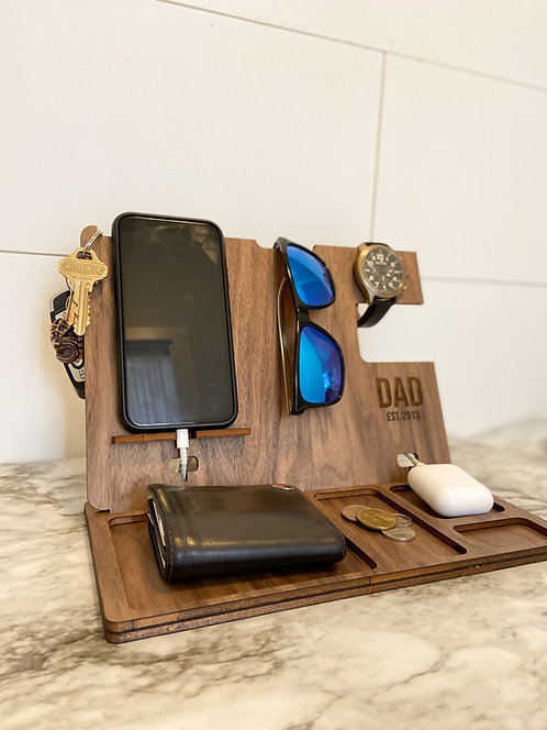 Customizeable Charging Station/Tray