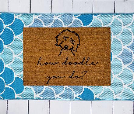 How Doodle You Do Doormat