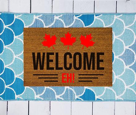 Welcome Eh! Doormat