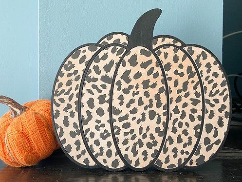 Leopard Pumpkin (Large)