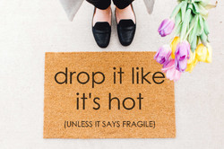 drop it doormat