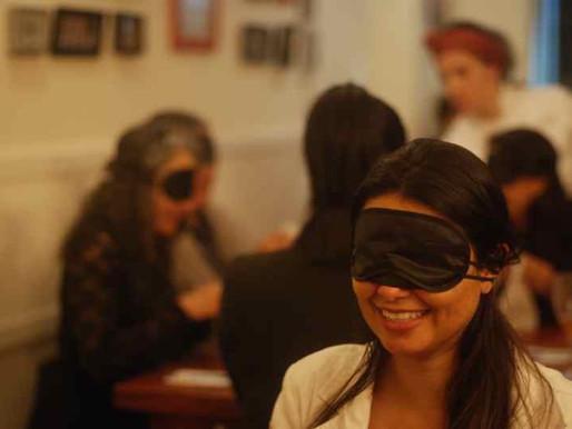 Jantar às Cegas - Sabores, sensações e sentidos