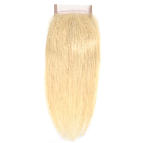 Russian Blonde Silky Straight Closures