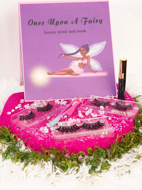 Once Upon A Fairy Lash Book