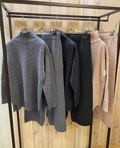 Coordinato Vicolo con pantalone,in maglia