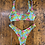 Thumbnail: Bikini Matinée, julie giraffe azzurro