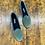 Thumbnail: Friulane in velluto color smeraldo