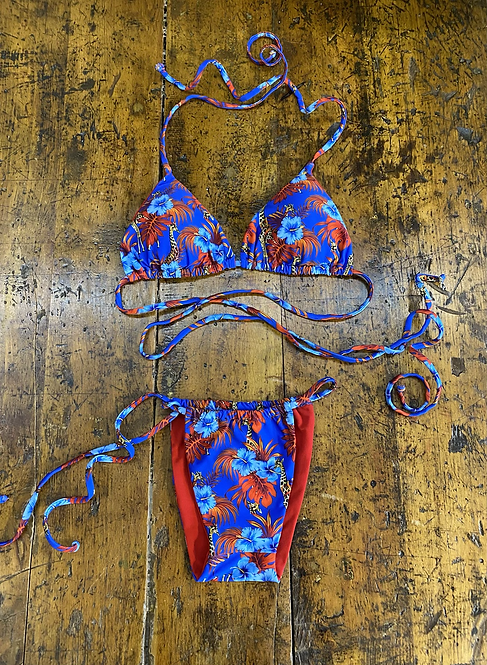 Bikini Matinée, Gaia giraffe viola