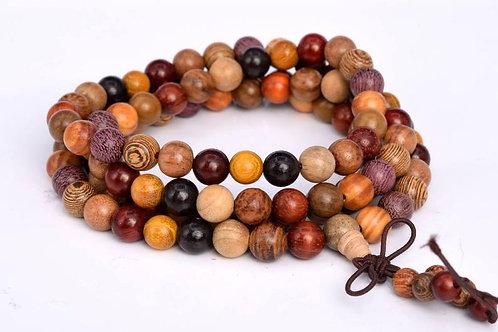 Natural Wood Mala Beads (Fragrant)