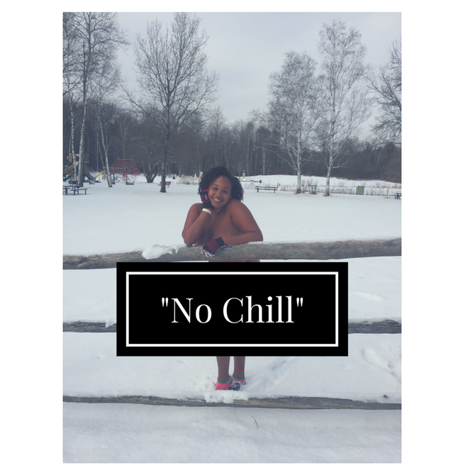 I have absolutely NO CHILL!...My naturist experience