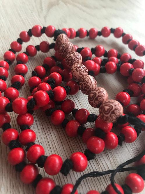 """""""Root Chakra"""" Mala Beads"""