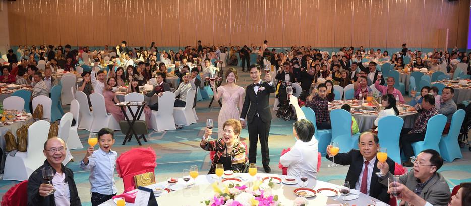 [婚禮紀錄 | 婚攝Andy濬瑋] 百展+惠玲 訂婚+結婚雙儀式婚禮紀錄