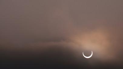 [風景攝影 | 高雄婚攝Andy濬瑋] 高雄.霾害下的日偏蝕