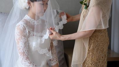 [ Wedding Story ] 婚禮二三事 -蓋頭紗Veil Down