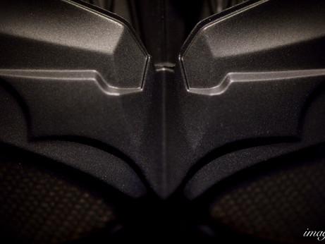 [模型攝影 | 婚攝Andy濬瑋] HOT TOYS QS001+MMS234「黑暗騎士:黎明昇起」1/4 蝙蝠俠+蝙蝠俠裝備間