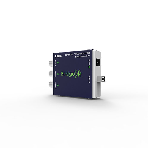 DIGITAL FORECAST Bridge M_OTR Mini SDI Optical Transmitter and Receiver Kit