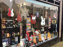 Music Accesories, Window Display