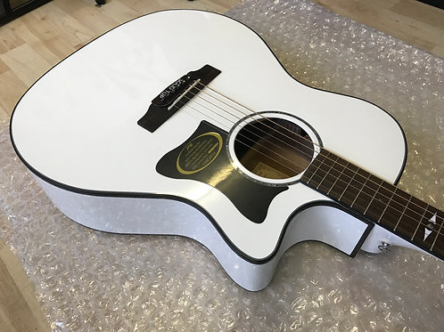 Cort GA5F WHSolid Top Electro Acoustic Guitar