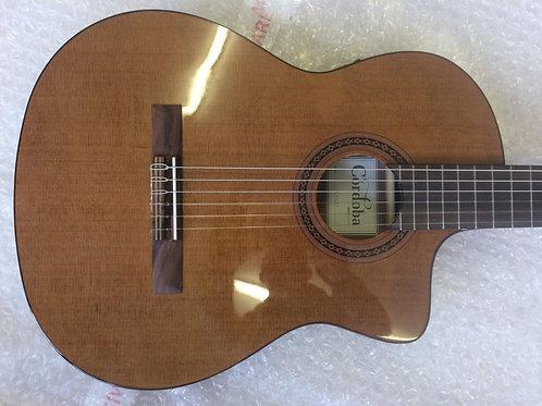 Cordoba C5-CET Electro Acoustic Slimline Nylon Strung Classical Guitar