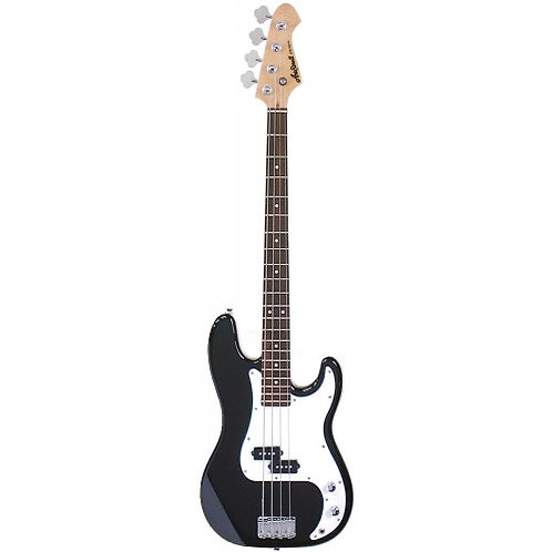 Aria Pro ii STB - PB BK - 4 String Precision Bass Guitar (Black)