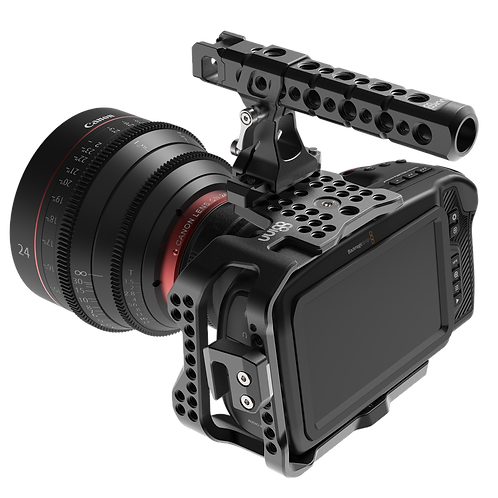 *B-STOCK 8SINN BM POCKET CINEMA CAMERA 4K HALF CAGE + TOP HANDLE PRO