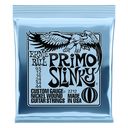 PRIMO SLINKY NICKEL WOUND ELECTRIC GUITAR STRINGS - 9.5-44 GAUGE