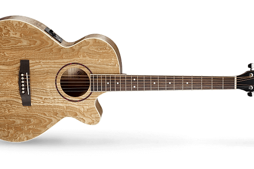 Cort SFX AB - Ash Burl Electro Acoustic Guitar with Built in Tuner