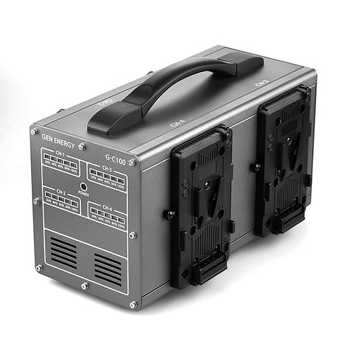 GEN ENERGY 4-Channel Simultaneous 3.5A Charger (V-Mount)