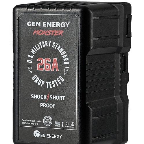 GEN ENERGY MONSTER 14.4V, 390Wh Li-Ion Battery (V-Mount)
