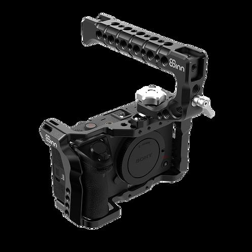 8Sinn Cage for Sony FX3 + 8Sinn Top Handle Scorpio (Include 8-ANR28MMM)