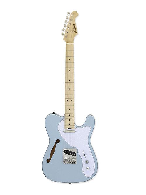 Aria 615 TL MIB - 6 String Thinline Telecaster Mystic Ice Blue