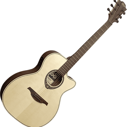 LAG T270ASCE Slim Body Electro Acoustic Guitar with Ink 3 Preamp