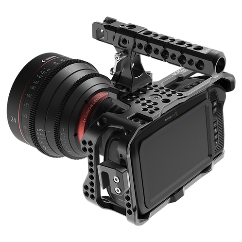 8SINN BM POCKET CINEMA CAMERA 4K CAGE + TOP HANDLE PRO
