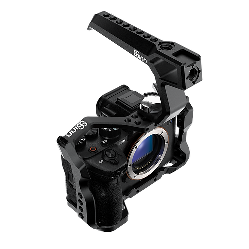 8Sinn Cage for Sony a7SIII + Black Raven Top Handle