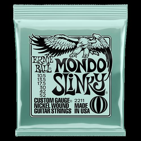 MONDO SLINKY NICKEL WOUND ELECTRIC GUITAR STRINGS 10.5 - 52 GAUGE