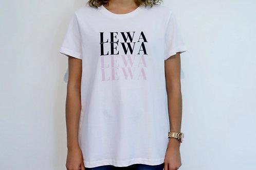 Black and Pink Lewa Tee