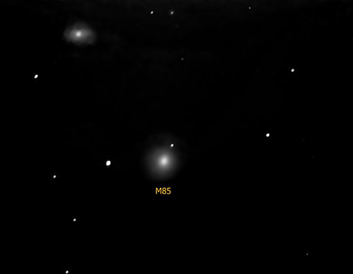 M85 and NGC 4394 (M=10.0 & 10.9 E=11m).j
