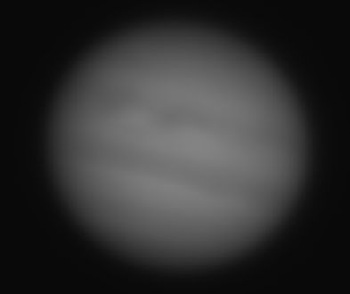 4,600 Stacked and Unprocessed CMOS Frames of Jupiter.