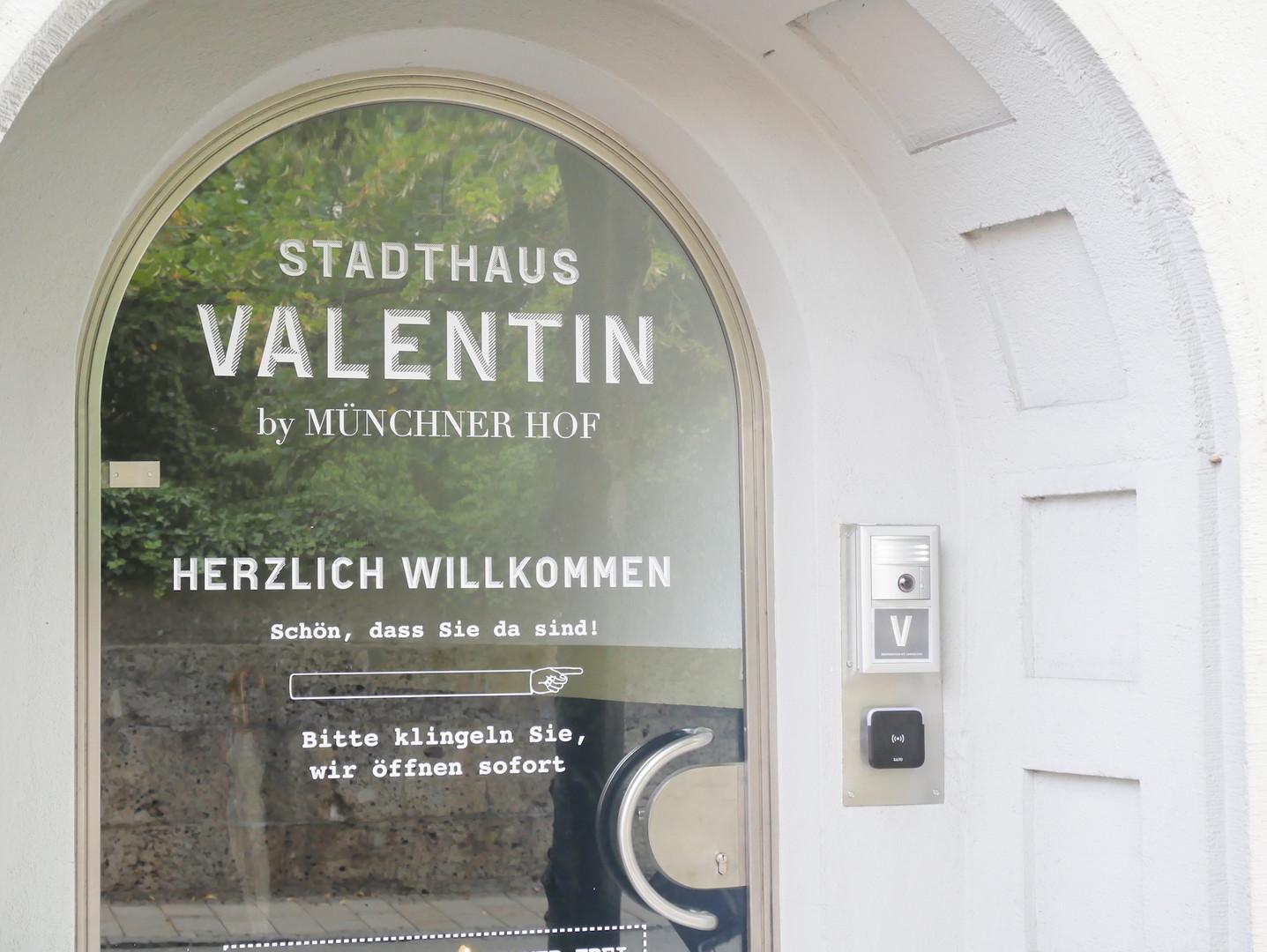 Haustür Valentin Marienstraße