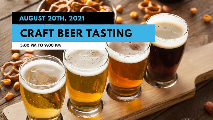 August 20th - Craft Beer Tasting.png