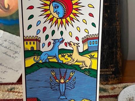 La Lune - The Tarot Christmas Card