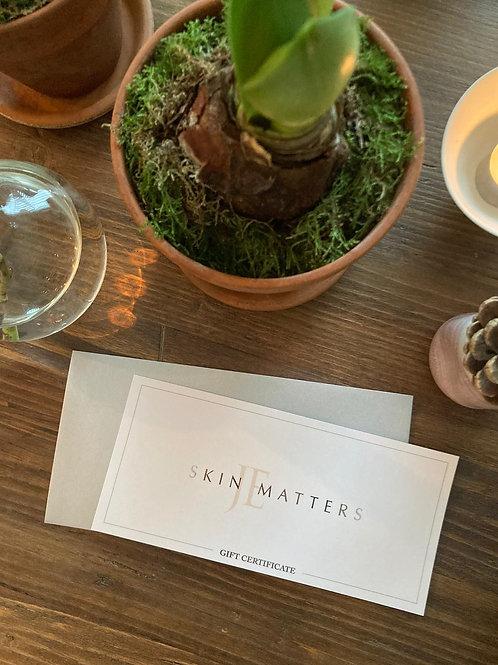 Skin Matters E-Gift Card