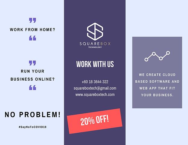 Squarebox Technology 20% Off