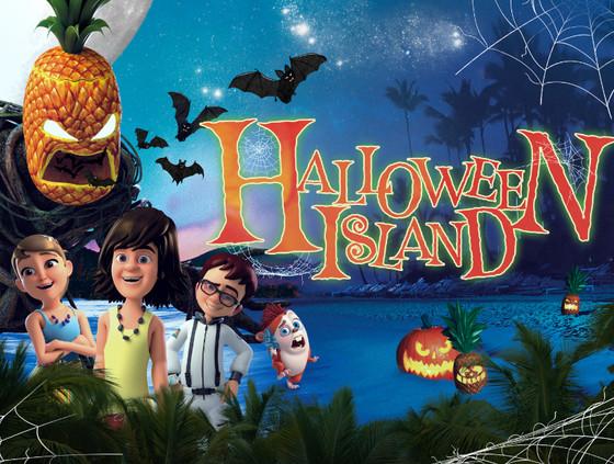 HALLOWEEN ISLAND FILM POSTER