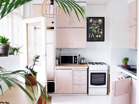 Suloinen 50-luvun keittiö