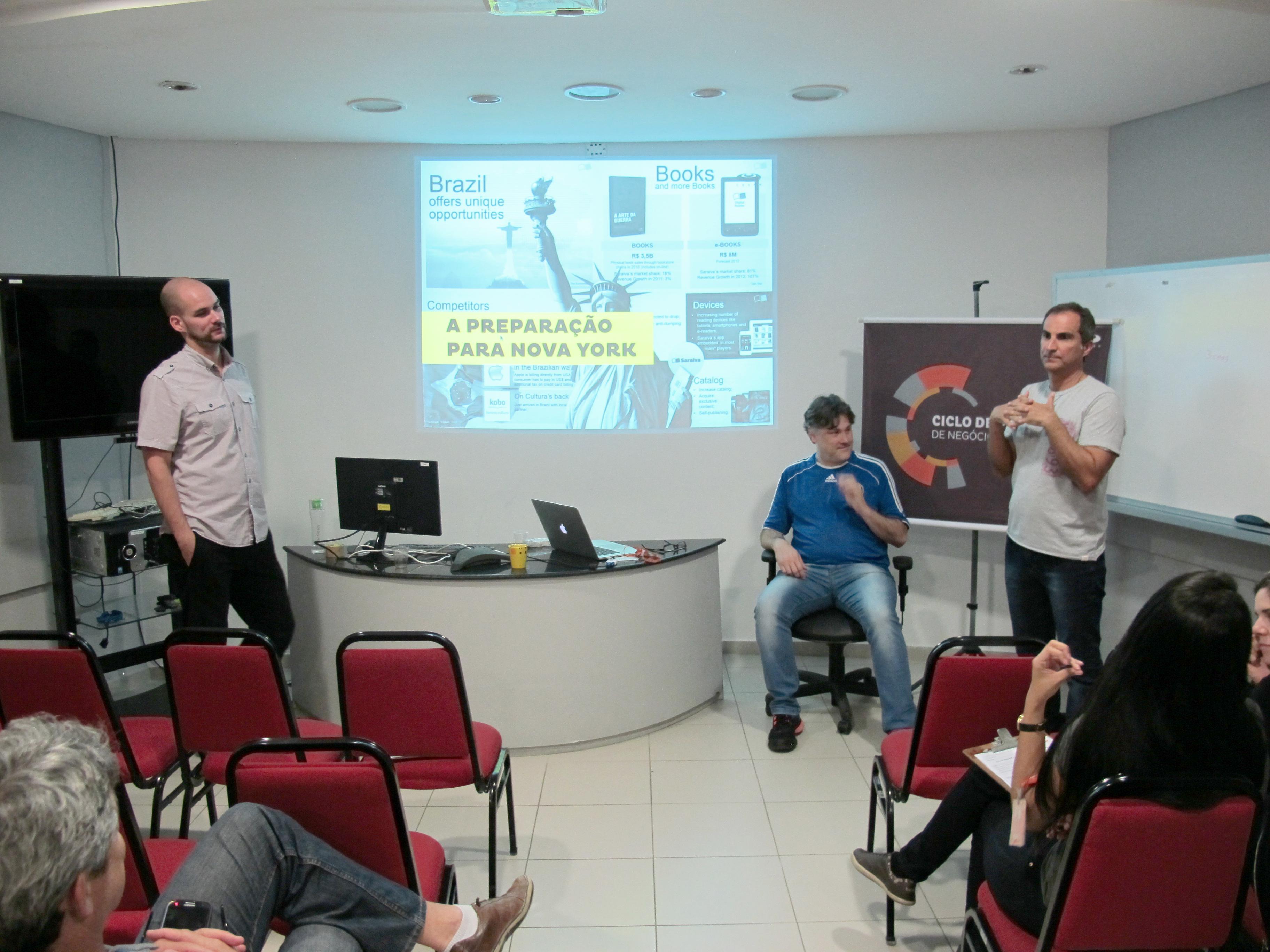 Paulo Melo, Luiz Borba, Eduardo