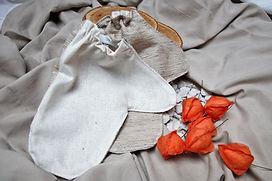 Gants de soie pour un massage Garshan