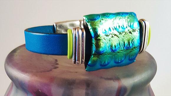 Teasing Teal Magnetic Bracelet