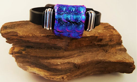 Blue & Purple Universe Buckle Bracelet