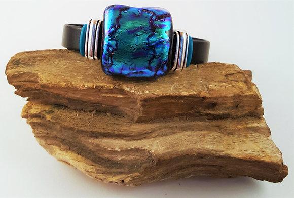 Indigo Love Blue Buckle Bracelet